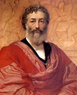 Sir Frederic Leighton, self-portrait 1880