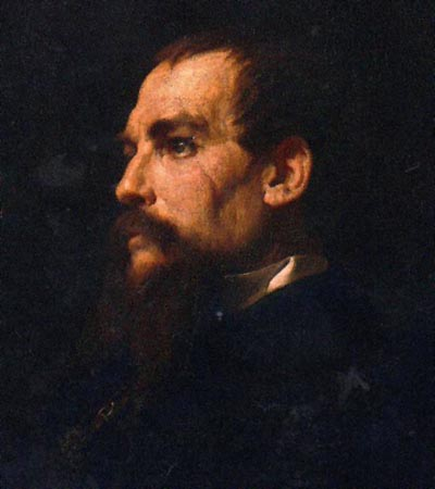 Frederic Leighton portrait of Richard Francis Burton, 1875
